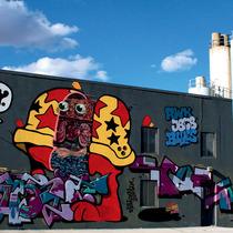 纽约街头涂鸦艺术 免费的室外博物馆