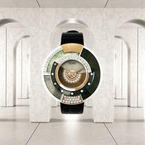 FENDI与Daniel Sannwald携手推出视频大片 展示POLICROMIA高级珠宝腕表系列
