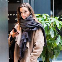 什么外套配什么围巾,保暖也讲套路-风格示范