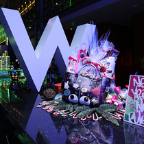"""北京长安街W酒店 肆无忌""""旦"""" 新年撒欢!"""