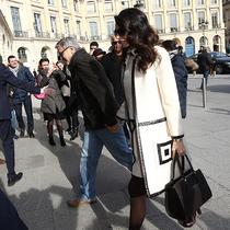 Amal Clooney演绎Longchamp「珑骧」Paris Premier系列包袋
