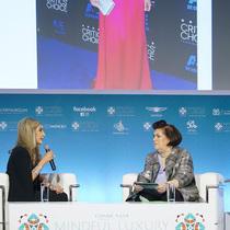 康泰纳仕国际奢侈品会议:Ingie Chalhoub与Suzy Menkes对谈