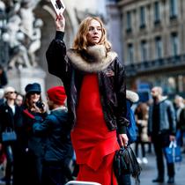 女人穿红色真的很俗气吗?-风格示范