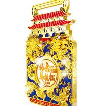 龙腾之姿传承中华竞技精神 方圆之间彰显传统之美,六福珠宝连续四年助力北京马拉松赛事-行业动态