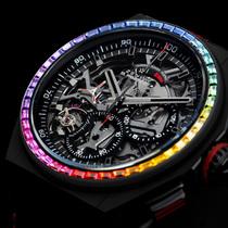 真力時 Defy Rainbow限量版彩虹腕表 探索腕彩風靡-行業動態