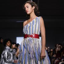 设计师品牌 Mark Gong 2019秋冬成衣系列首次亮相纽约时装-时装大片