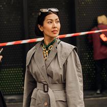 你需要了解的 SS20 第比利斯时装周街头造型-时尚街拍