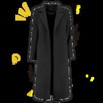 谁说没有五彩斑斓的黑?来看看这5种黑色大衣的花式穿法吧-衣Q进阶