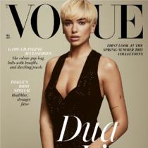 有关Dua Lipa以超模造型登上2月英国Vogue的杂志封面,8件你不得不知的事情-时尚圈