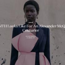 亚历山大麦昆高级时装设计师 居家创作点滴历程-品牌新闻