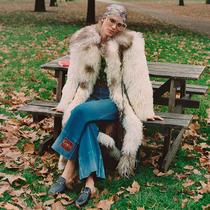 古驰发布冬日公园诗篇线上宣传大片#GucciWinterinthePark-时装大片