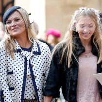 時尚圈典范母女——Kate Moss 和 Lila Grace Moss-星秀場
