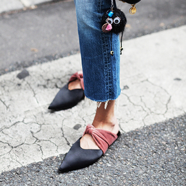 穿对一双尖头平底鞋 气场大过高跟鞋