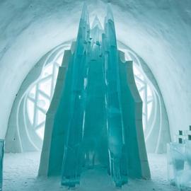 夏日避暑天堂 這個特色冰雪酒店看著都冷
