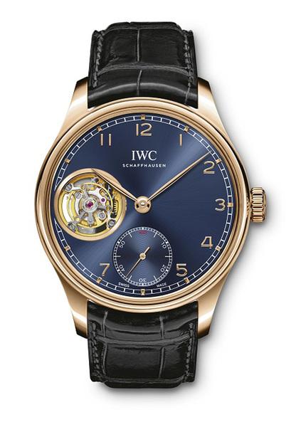 深海之蓝 先锋之冕 IWC万国表以蓝色葡萄牙系列腕表演绎新经典