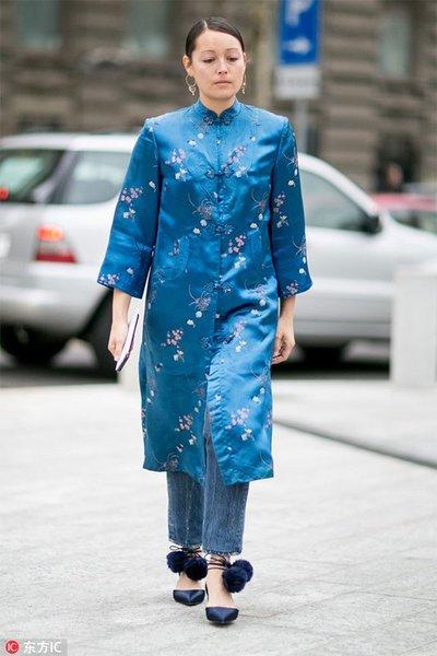 无法割舍的中国风 被她们穿得时髦又好看