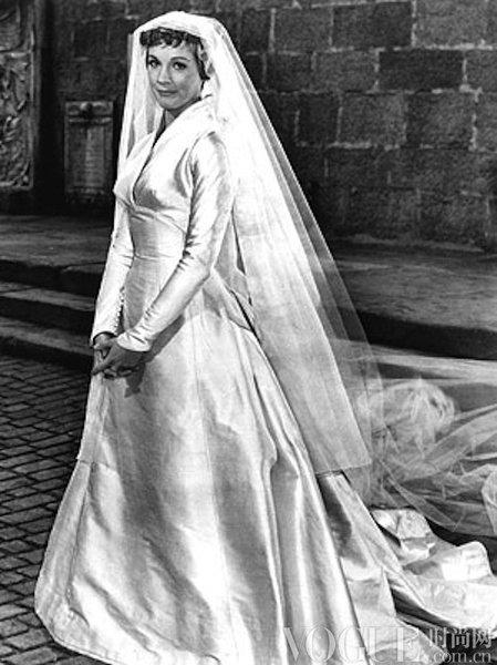 电影中经典婚纱造型之你不可不知的top 30!
