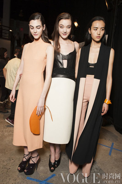 Narciso Rodriguez 2015秋冬后台揭秘