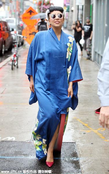 Kimono Style打造迷人东瀛风