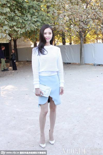 蕾哈娜刘诗诗杨幂,谁是巴黎时装周最潮前排客?