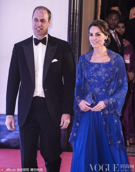 凱特王妃出訪印度,不僅有EQ,更有衣品!