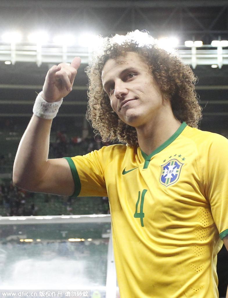 巴西:大卫-路易斯