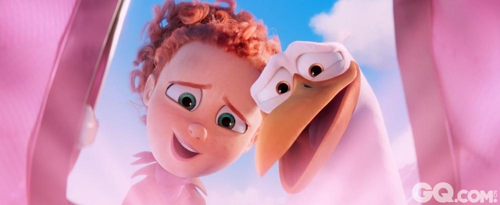 """作为华纳动画集团开发的一个完全的原创故事,这部影片讲述了一个崭新而有趣的逗鸟寓言。""""快递员""""逗鸟护送萌宝回家的爆笑故事,将在今秋带领全年龄段观众开启一段令人捧腹、妙趣横生的冒险之旅。"""