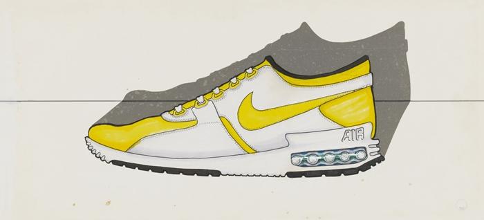接下来发生的事情成就了历史:众所周知,哈克菲尔德去了巴黎旅行,参观了蓬皮杜艺术中心,受到了这座建筑独特的反传统设计的启发。回到俄勒冈后,他坐下来,在一款革命性的跑鞋上,赋予了可视性气垫的概念。     这是大多数人都知道的故事,但这只是故事的一半。Nike Air Max 1的设计并非一次成型。相反,它是数次反复设计的结果。最早展现气垫鞋垫理念的是Air Max Zero。哈克菲尔德并不知道这款设计多少年后才成为现实,他只想设计一款具备最佳舒适度和性能表现的必备鞋款。