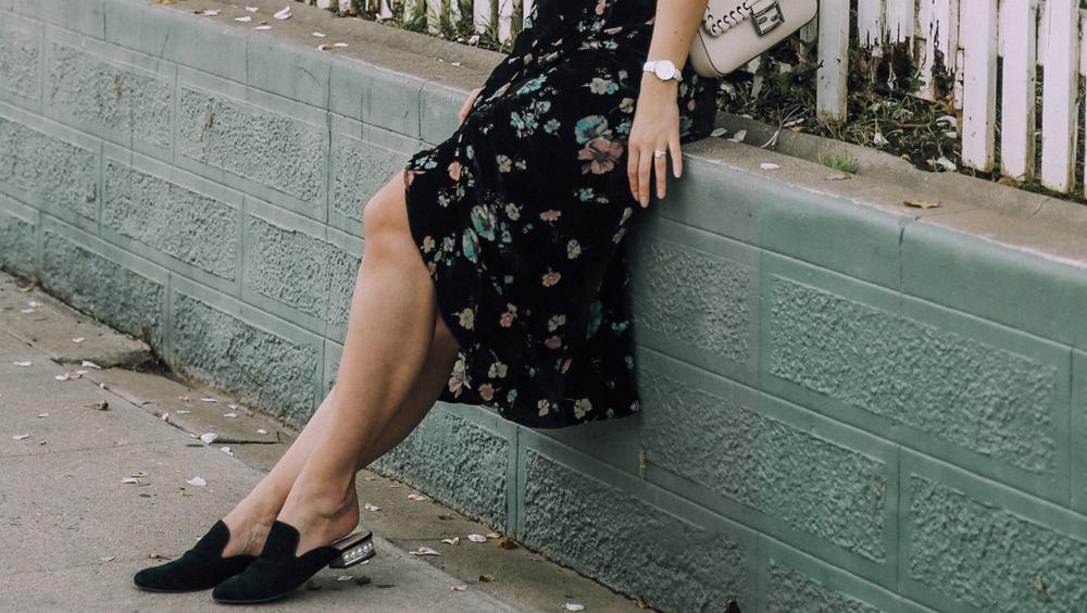 5双平底鞋+连衣裙 尖头款式太时髦了