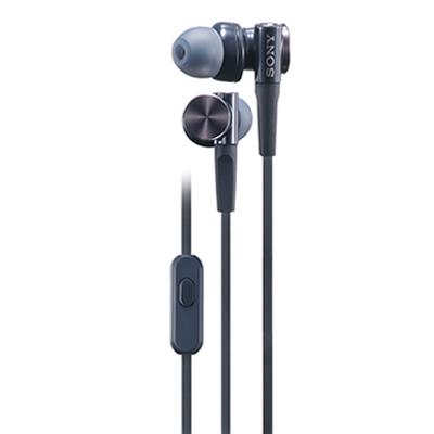 SONY索尼重低音立体声耳机MDR-XB75AP