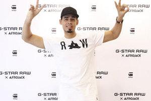 顶尖DJ AFROJACK亲临G-STAR RAW上海旗舰店