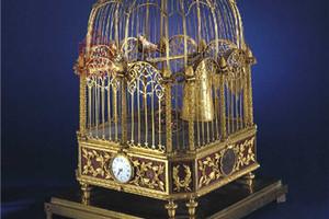 雅克德罗故宫馆藏 老北京鸟笼钟