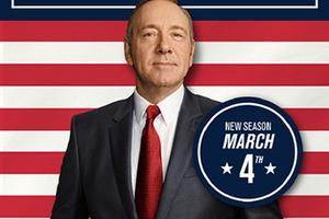 《纸牌屋》第四季明年三月强势回归!