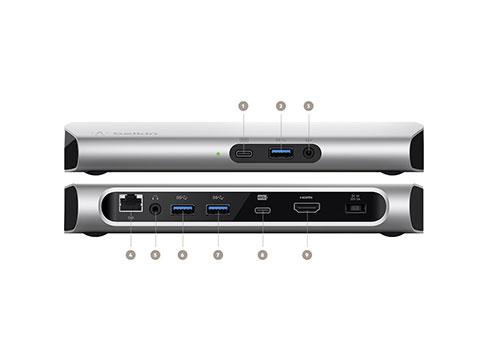 贝尔金®(BELKIN®)推出USB-C™ 高速扩展基座 3.1专业版