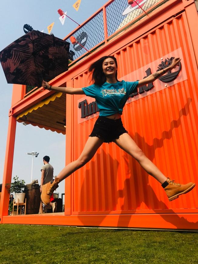 草莓音乐节嗨爆了!就用音乐及大长腿开启踢不烂夏天  TIMBERLAND X 草莓音乐节京沪洒欢直击
